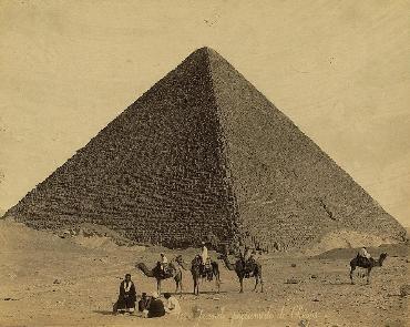 The Great Pyramid of Khufu at Giza
