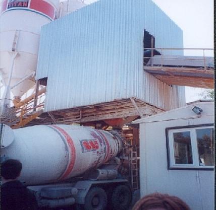 Concrete Production Unit Load & Trasnfer