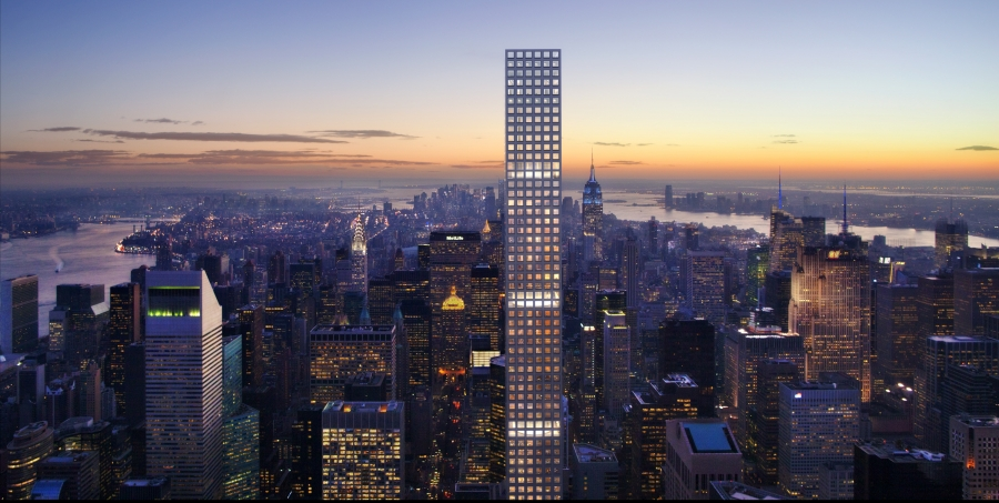 432 Park Avenue will be the world's tallest residential building