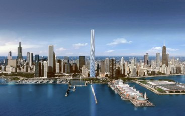 The Chicago Spire will be the tallest building in the Western Hemisphere once completed