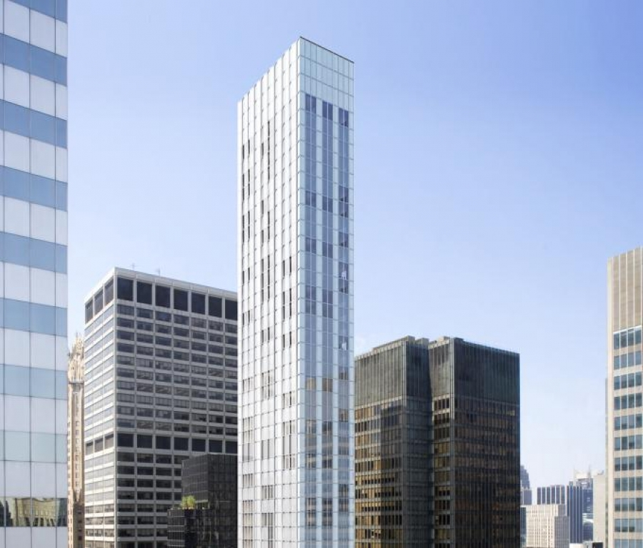 The 61-story skinny skyscraper will be completed in 2017