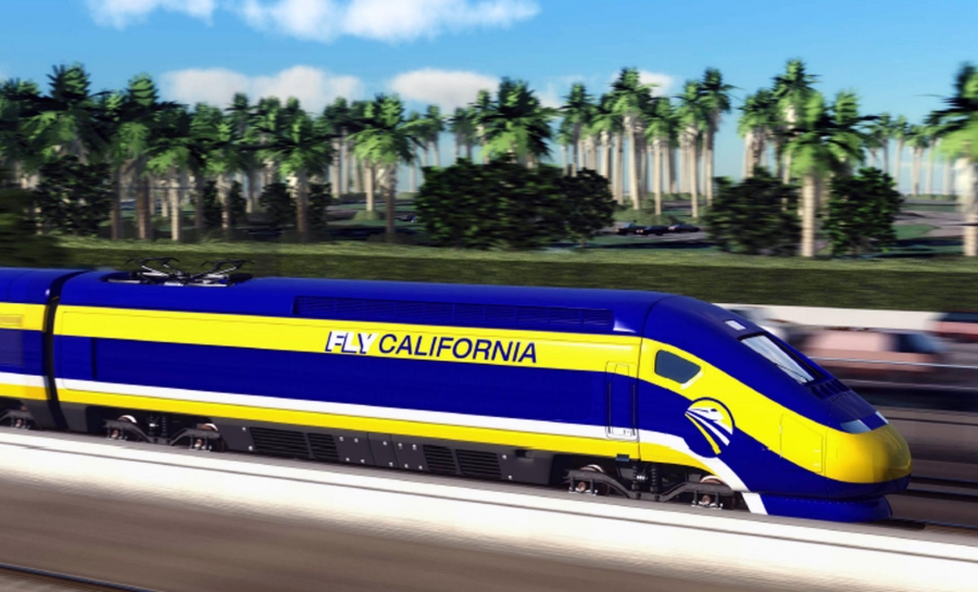 The California High Speed Rail line between Merced and Bakersfield is scheduled to be completed in 2017
