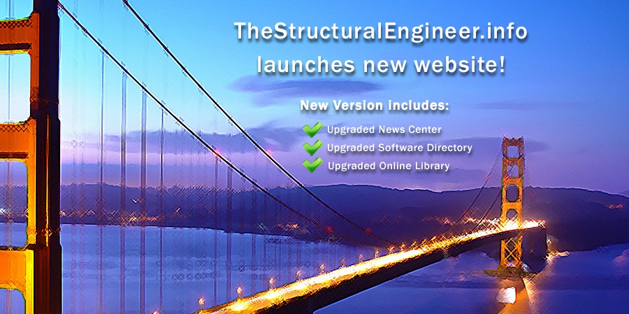TheStructuralEngineer.info launches new website and daily-updated News Center