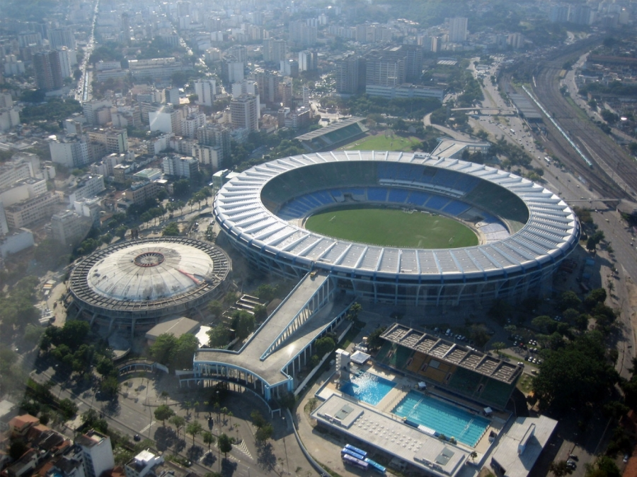 The Estadio do Maracana will host the final match of the 2014 FIFA World Cup