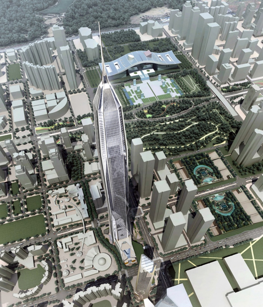 Ping An International Finance Center will be the tallest building in China once completed