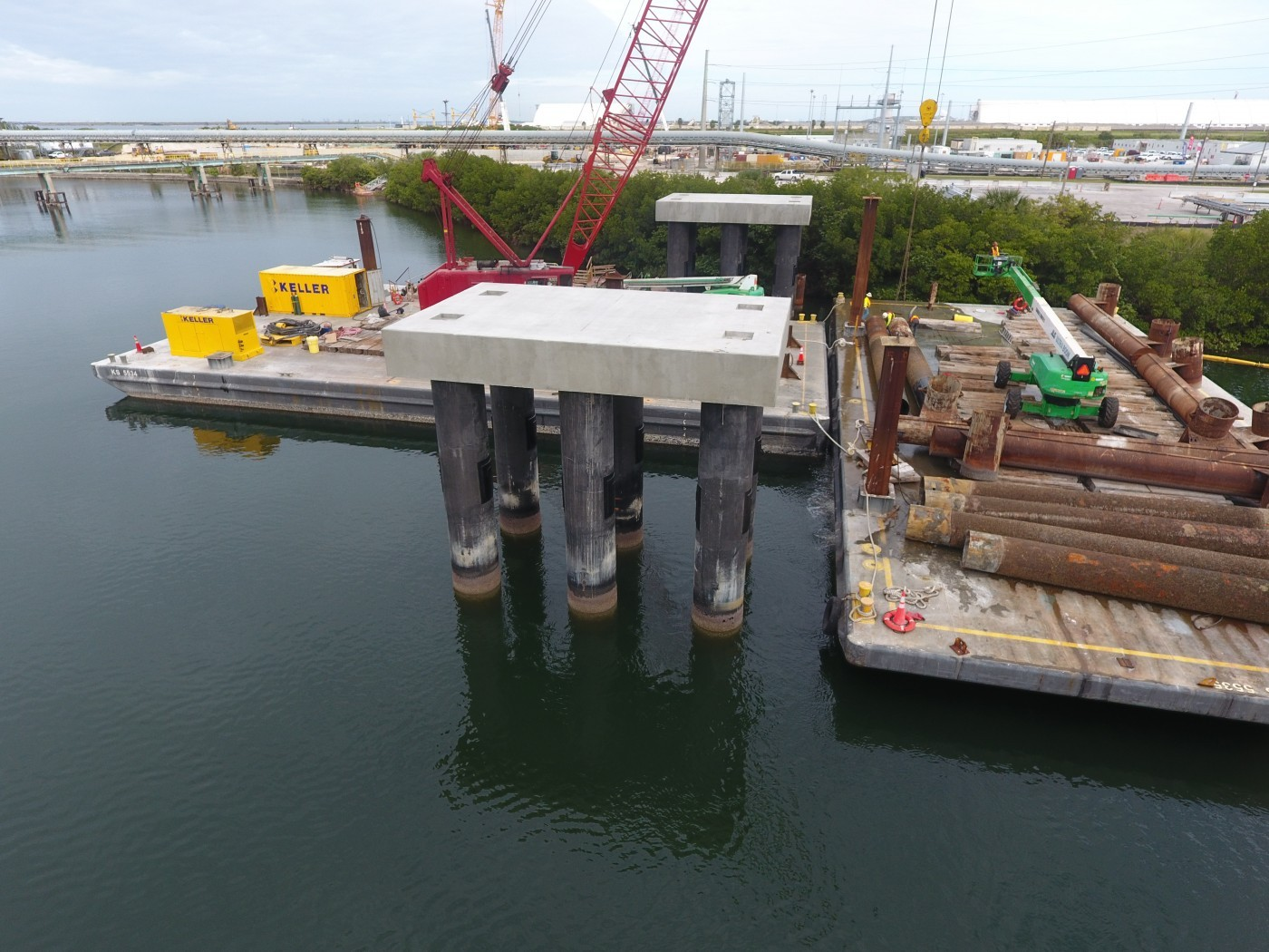 Keller Moretrench Florida Powerplant. Credits: Keller