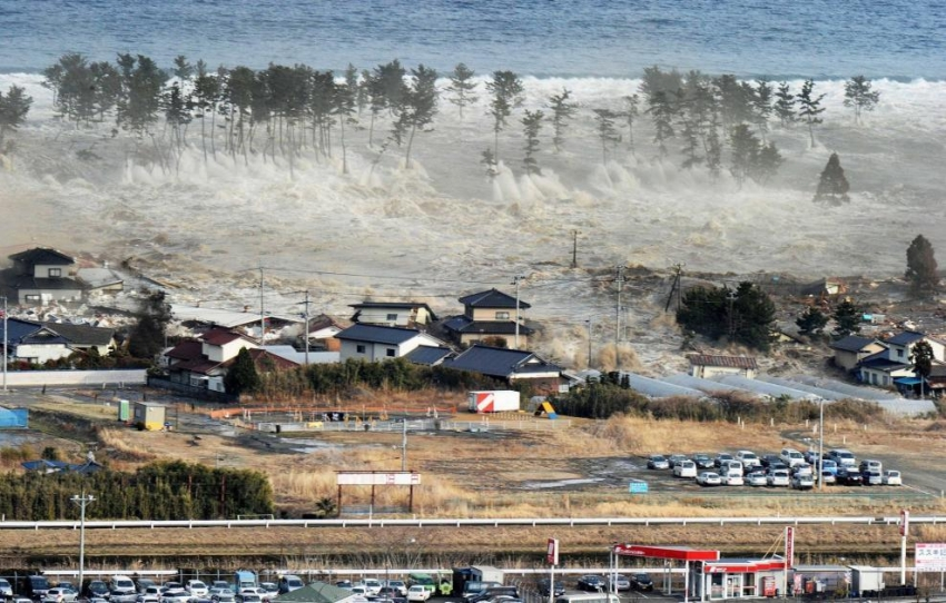 The 2011 Tsunami and Earthquake wiped out many coastal towns in Japan