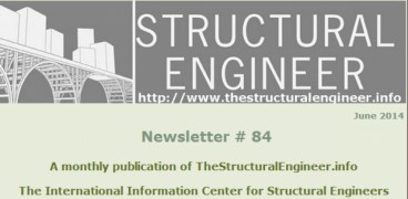 The latest June issue of TheStructuralEngineer.info newsletter is out !