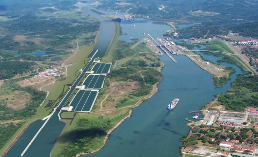 The Panama Canal expansion project is currently $1.6 billion over budget