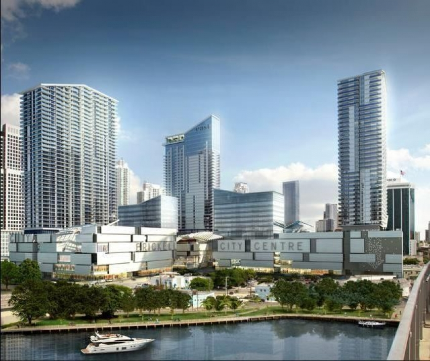 Phase One of the Brickell City Center will be completed by late 2015