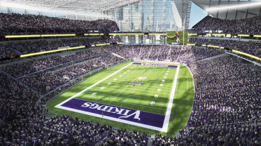 The new Vikings Stadium will be ready for the 2016 NFL Season