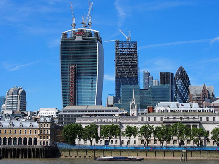The Walkie-Talkie building is one of London's most famous buildings