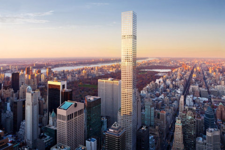 432 Park Avenue will be the largest residential building in the Western Hemisphere once completed