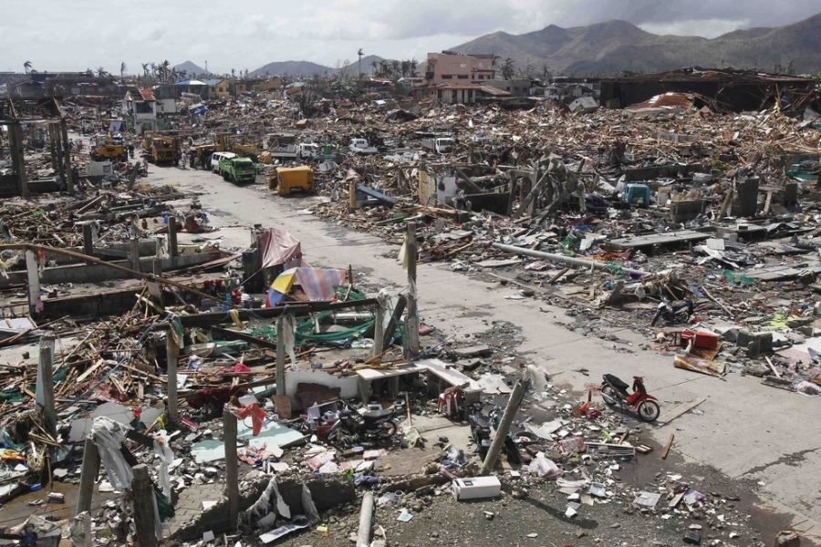 Aftermath of Haiyan in Tacloban