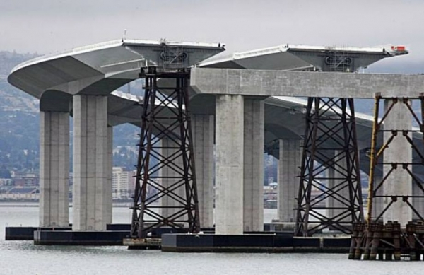 Bay Bridge: a troubled landmark is now complete