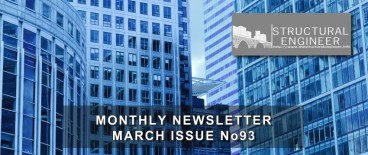 The latest March issue of TheStructuralEngineer.info newsletter is out !