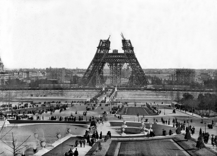 The Eiffel Tower's 126th Year Includes Energy Upgrades