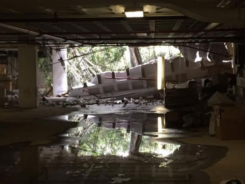 Watergate Hotel Parking Structure Collapse