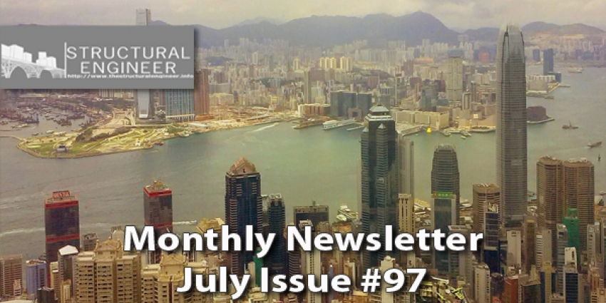 The July Issue of TheStructuralEngineer.info Newsletter is out !