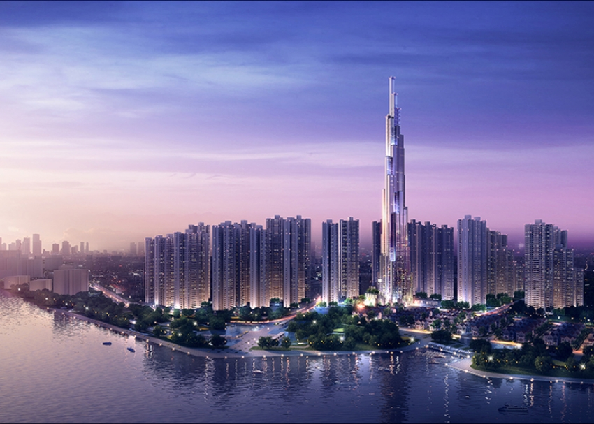 Vietnam's Tallest Building Is Taking Shape