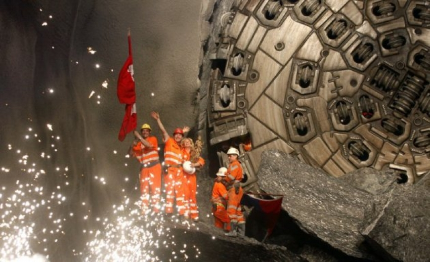 The Longest Train Tunnel Has Been Completed