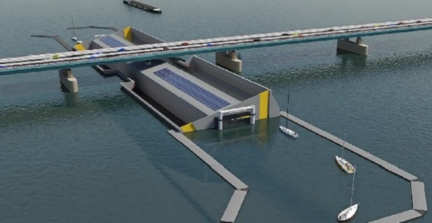 Video: Stunning Design for Sailboats to Pass Under Bridges!