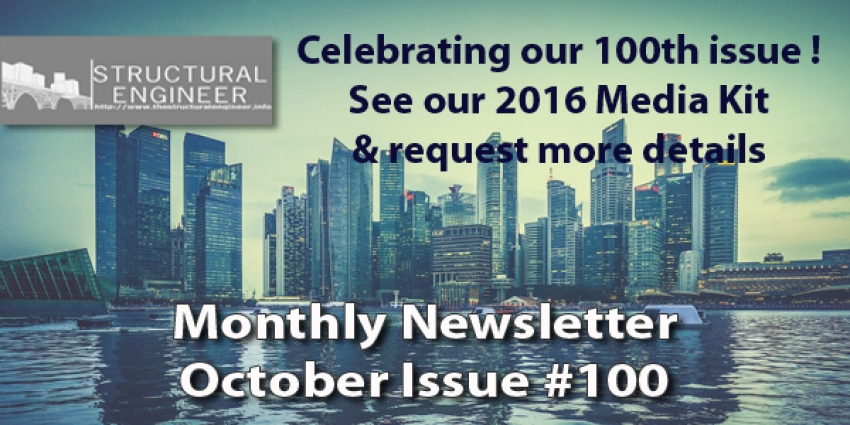 The October Issue of TheStructuralEngineer.info Newsletter is out !