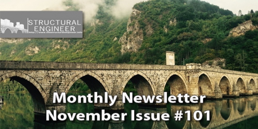 The November Issue of TheStructuralEngineer.info Newsletter has been released !
