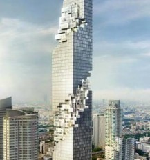 MahaNakhon skyscraper in Bangkok about to be completed