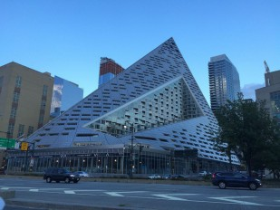 Via 57 West in NYC, a modern pyramid, opens in March;