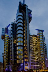 Lloyd's building stands out in London: functionality and modern design