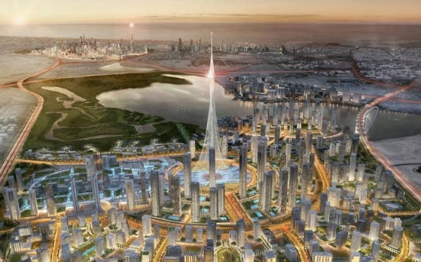 The tallest skyscraper is going to be in Dubai