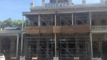 Several old Sacramento buildings in need of repair