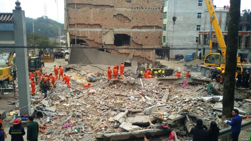 Eastern China building collapse leaves 7 dead