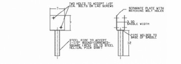 Timber Support Brackets by Hubbell