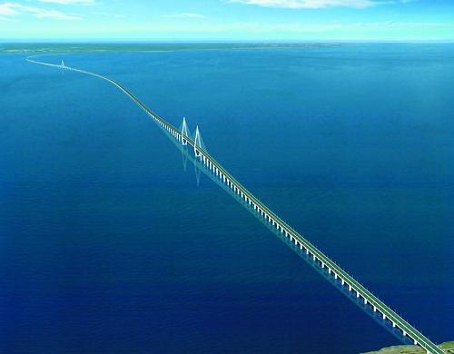 interesting bridges hangzhou bay bridge1