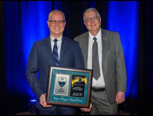 James D. Hussin receives ACSE Geo-Institute's Wallace Hayward Baker award