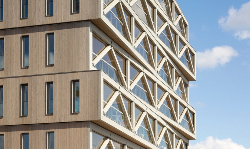 The highest wooden building in the Netherlands is also highly transformable