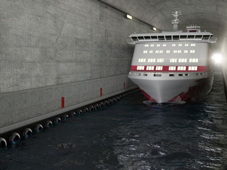 ship tunnel Norway 1