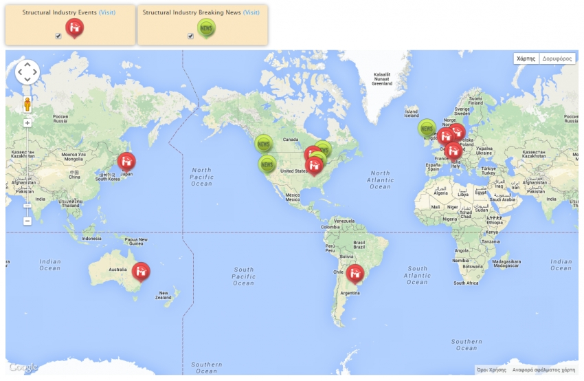 TheStructuralEngineer.info launches interactive global map with latest news and conferences!