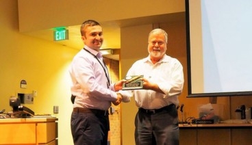 Mark Koelling Receives Distinguished Service Award