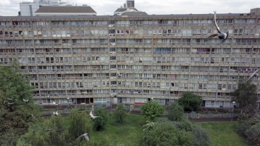 The post-war Robin Hood Gardens in East London, an exemplary of new brutalism, is about to be demolished