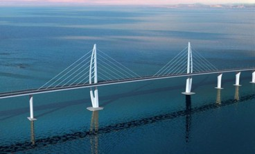 The world's longest sea bridge will also be 'green', featuring electric vehicle charging stations
