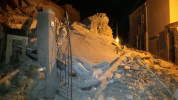 Earthquake on Italian holiday island leaves at least two people dead and 39 injured