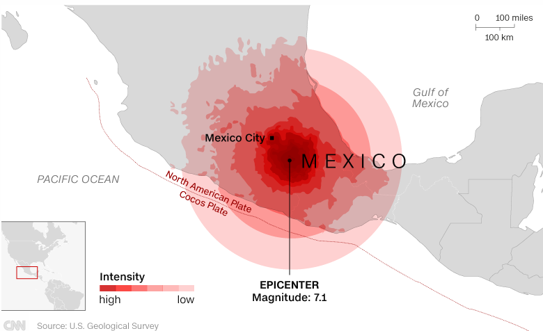 Mexico quake 19Sept 1