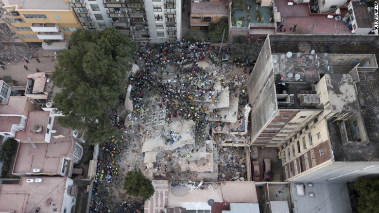 Mexico quake 19Sept 2