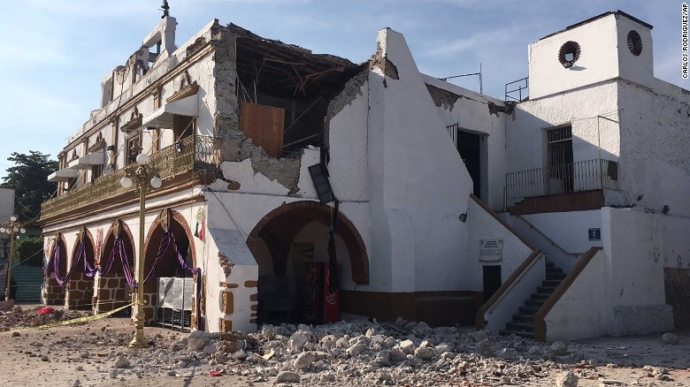 Mexico quake 19Sept 6