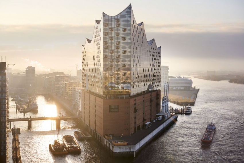 Hamburg's unique Concert Hall was designed by an algorithm