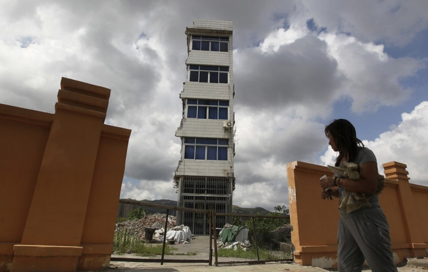 'Nail houses' in China: Construction put to a halt