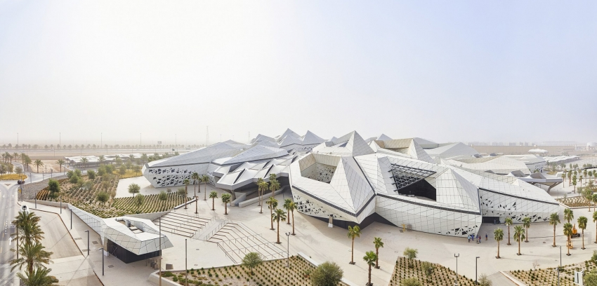 Saudi Arabia's 'smartest' building, designed by Zaha Hadid Architects, recently opened to the public